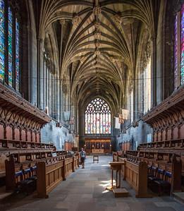 Choir, Paisley Abbey