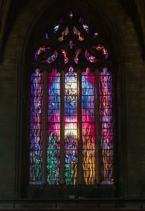 Contemporary Window, Paisley Abbey