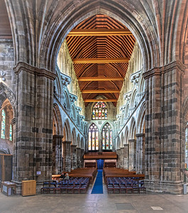Nave Paisley Abbey
