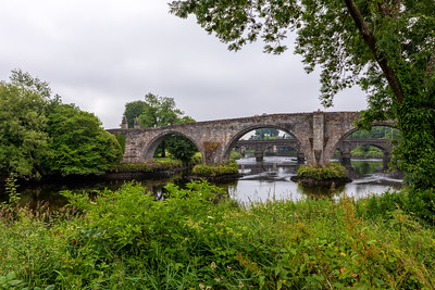 Stirling Bridge on an Overcast Day