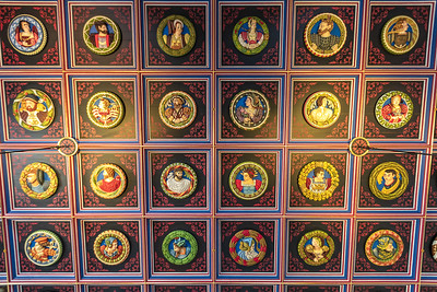 Medallions in the Royal Hall