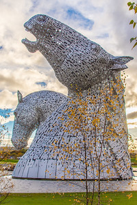 The Kelpies sculpture