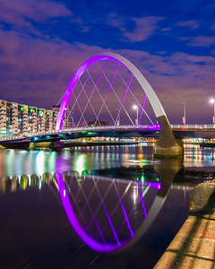 The unusual Clyde Arc bridge