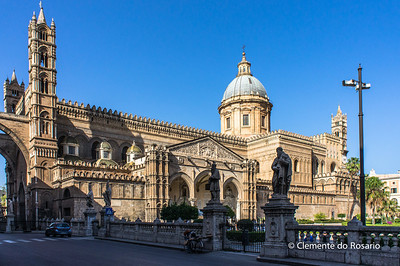File Ref: 2012-10-19 Palermo NX5 078 The Cathedral of Palermo, Sicily, Italy