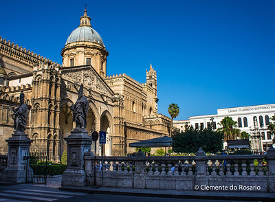 File Ref: 2012-10-19 Palermo NX5 076 The Cathedral of Palermo, Sicily, Italy