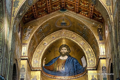 File Ref: 2012-10-19 Palermo NX5 258 1930 Monreale Cathedral, Palermo,Sicily,Italy