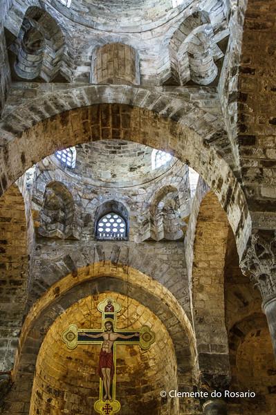 File Ref: 2012-10-19 Palermo NX5 189<br /> The Chiesa di San Cataldo church , an example of Arabian-Norman architecture in Palermo, Sicily, Italy