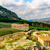 File Ref: 2012-10-26 Erice 663 1896<br /> Greek Temple in Segesta, Sicily, Italy<br /> This majestic Greek Temple is located in the middle of beautiful pastoral countryside in Segesta, Sicily