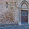 File Ref: 2012-10-22 Taormina NX5 467 1959<br /> Cathedral side door in Piazza del Duomo, Taormina, Sicily