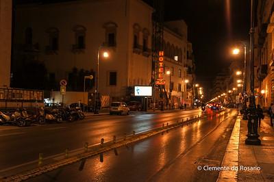 File Ref: 2012-10-19 Palermo NX5 158 A night scene in Palermo, Sicily, Italy