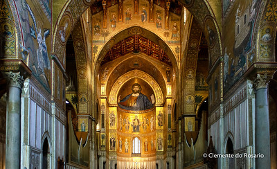 File Ref: 2012-10-19 Palermo NX5 255 1929 Monreale Cathedral, Palermo,Sicily,Italy