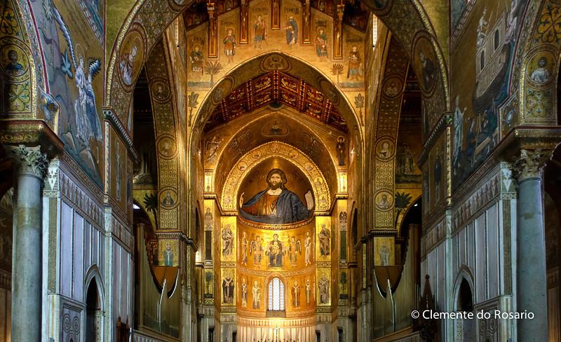 File Ref: 2012-10-19 Palermo NX5 255 1929<br /> Monreale Cathedral, Palermo,Sicily,Italy