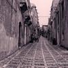 File Ref: 2012-10-26 Erice NX5 726 1971<br /> Cobblestone street in Erice, Sicily, Italy