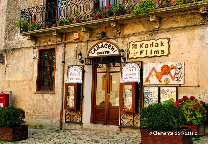 File Ref: 2012-10-26-Erice 755 1909<br /> Tobacco Shop in Erice, Sicily, Italy