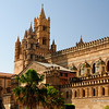 File Ref: 2012-10-19 Palermo 292<br /> The Baroque small side cupolas by Ferdinando Fuga., Palermo Cathredal