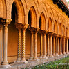 File Ref: 2012-10-19 Palermo 352<br /> Monreale's Cloisters arches  borne  by 228 paired columns and capitals.