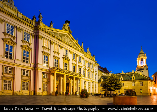 Slovak Republic - Bratislava - Capital City - Primate's palace - Primaciálny palác - Neo-Classical palace in the Old Town