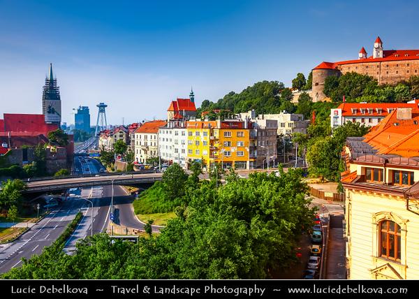 Slovak Republic - Bratislava - Capital City - Old Town with St. Martin's Cathedral - Katedrála svätého Martina