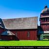 Europe - Slovakia - Slovak Republic - Slovensko - Liptov - Svätý Kríž - The wooden articled Evangelical church near the village Svätý Kríž is one of the largest wooden buildings in the Central Europe - UNESCO World Cultural Heritage Site