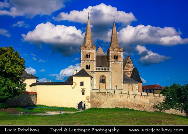 Europe - Slovak Republic - Slovensko - Eastern Slovakia - Spišská Kapitula - UNESCO World Heritage Site - Area above Spišské Podhradie town