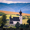 Europe - Slovak Republic - Slovensko - Eastern Slovakia -  Low Tatra - Nizke Tatry - Žehra - Holy Spirit church - Roman-Catholic Holy Spirit church in Žehra - UNESCO World Cultural and Natural Heritage