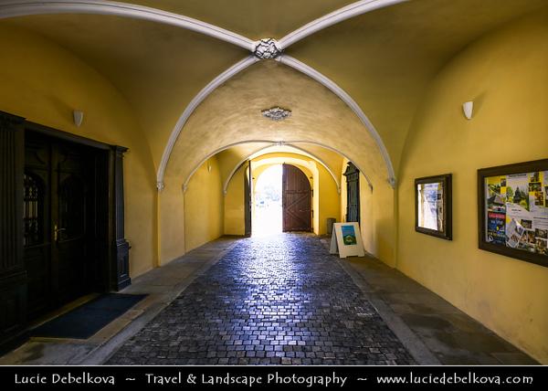 Europe - Slovak Republic - Slovensko - Eastern Slovakia - Prešov Region - Humenné - Kaštieľ v Humennom - Renaissance Manor House built in 1610 - National Cultural Monument
