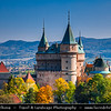 Europe - Slovak Republic - Slovensko - Western Slovakia - Bojnice Castle - Bojnický zámok - Fairy-tale castle - One of the most visited & most beautiful castles not only in Slovakia, but also in central Europe