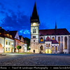 Europe - Slovak Republic - Slovensko - Eastern Slovakia - Šariš region - Bardejov - UNESCO World Heritage Site - Historical fortified town with completely intact medieval town center and impressive city walls