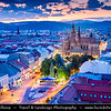 Europe - Slovak Republic - Slovakia - Slovensko - Kosice - Košice - Biggest city in eastern Slovakia - European Capital of Culture 2013 - Cityscape with St. Elisabeth Cathedral - Dóm svätej Alžbety - Szent Erzsébet-székesegyház - Dom der Heiligen Elisbeth - Slovakia's biggest church & one of the easternmost Gothic cathedrals in Europe