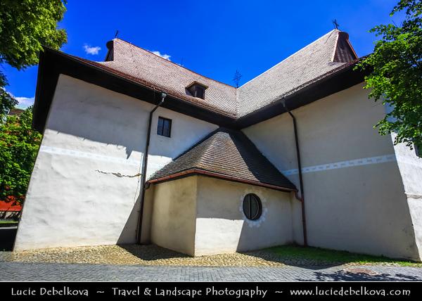 Europe - Slovak Republic - Slovensko - Eastern Slovakia - Spiš region - Kežmarok - Kežmarok Castle - Kežmarský hrad - Medieval castle compound originating in 1463 built to defend the town