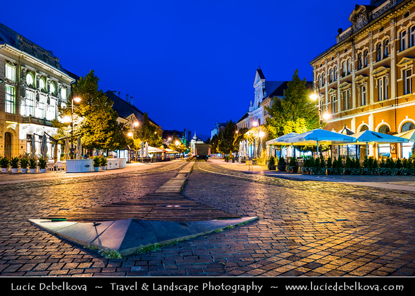 Europe - Slovak Republic - Slovakia - Slovensko - Kosice - Košice - Biggest city in eastern Slovakia - European Capital of Culture 2013 - Historical City Center