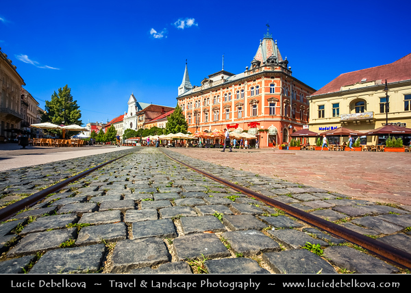 Europe - Slovak Republic - Slovakia - Slovensko - Kosice - Košice - Biggest city in eastern Slovakia - European Capital of Culture 2013 - Historical City Center