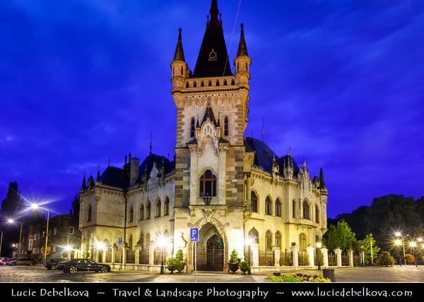 Europe - Slovak Republic - Slovakia - Slovensko - Kosice - Košice - Biggest city in eastern Slovakia - European Capital of Culture 2013 - Historical City Center - Jakabov palace - Jakab's Palace