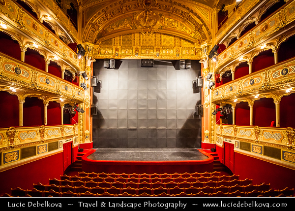 Europe - Slovak Republic - Slovakia - Slovensko - Kosice - Košice - Biggest city in eastern Slovakia - European Capital of Culture 2013 - State Theatre - Statni Divadlo