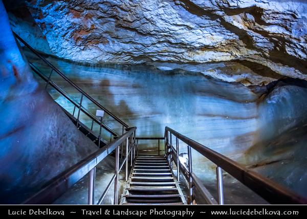 Europe - Slovakia - Slovak Republic - Slovensko - Low Tatra - Nizke Tatry - Demänovská Ice Cave - Demänovská ľadová jaskyňa - UNESCO World Heritage Site - Ice cave in the Demanovska Valley