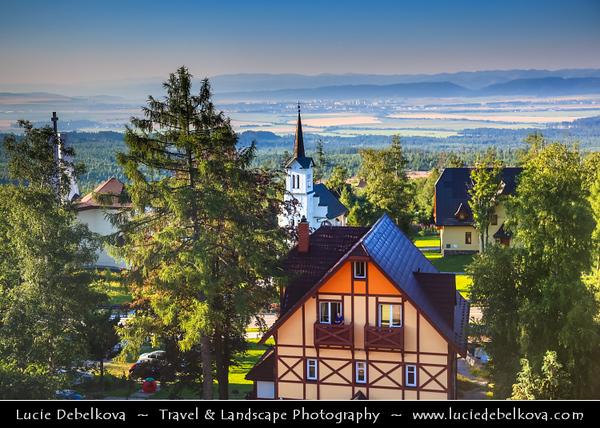 Europe - Slovakia - Slovak Republic - Slovensko - High Tatras - Vysoke Tatry - Starý Smokovec - Oldest tourist centre & significant crossing station in Vysoké Tatry