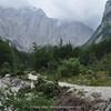 nice wooded valley near Aljazev dom