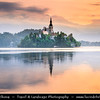 Europe - Slovenia - Slovenija - Julian Alps - Lake Bled - Blejsk