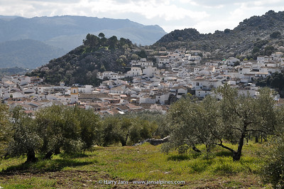 view over Montejaque