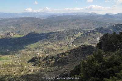 view Grazalema area