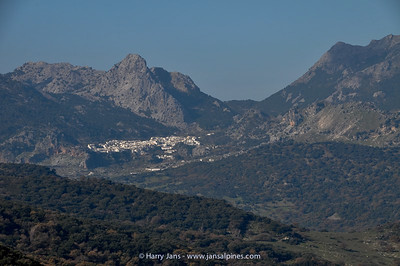 view to Grazalema
