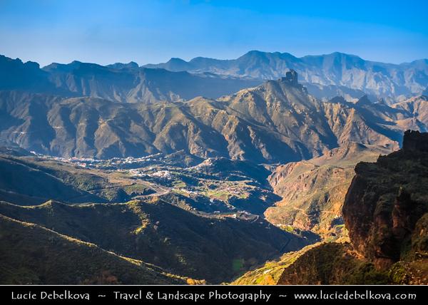 Europe - Spain - España - Canary Islands - Islas Canarias - the Canaries - Canarias - Gran Canaria island - Volcanic mountainous interior