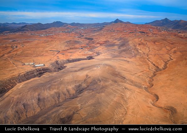 Europe - Spain - España - Canary Islands - Islas Canarias - the Canaries - Canarias - Fuerteventura Island