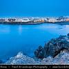 Europe - Spain - España - Canary Islands - Islas Canarias - the Canaries - Canarias - Fuerteventura - Cotillo - Coastal town on shores of Atlantic Ocean