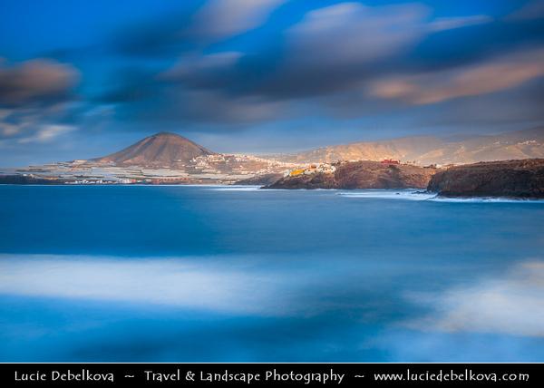 Europe - Spain - España - Canary Islands - Islas Canarias - the Canaries - Canarias - Gran Canaria island - Atlantic Ocean Coast- La Punta de Gáldar