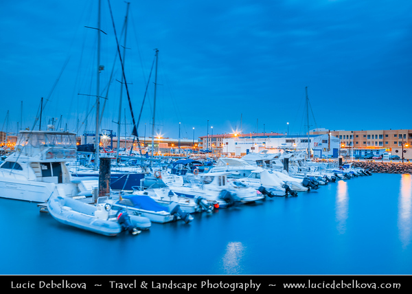 Europe - Spain - España - Canary Islands - Islas Canarias - the Canaries - Canarias - Fuerteventura - Corralejo - Coastal town on shores of Atlantic Ocean