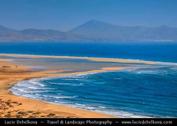 Europe - Spain - España - Canary Islands - Islas Canarias - the Canaries - Canarias - Fuerteventura - Atlantic Coast - Jandia Beach