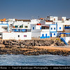 Europe - Spain - España - Canary Islands - Islas Canarias - the Canaries - Canarias - Fuerteventura - Cotillo - Coastal town on shores of Atlantic Ocean