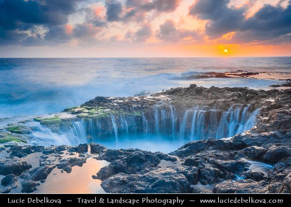 Europe - Spain - España - Canary Islands - Islas Canarias - the Canaries - Canarias - Gran Canaria island - Telde - El Bufadero
