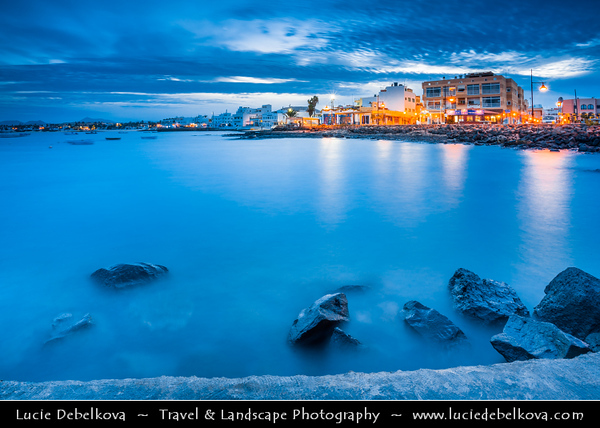 Europe - Spain - España - Canary Islands - Islas Canarias - the Canaries - Canarias - Fuerteventura - Corralejo - Coastal town on shores of Atlantic Ocean